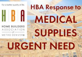 HBA Response Medical Supplies Urgent Need